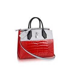 LOUIS VUITTON City Steamer Pm. #louisvuitton #bags #shoulder bags #hand bags #lining #leather #metallic #
