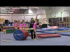 Fresh from training the 2008 Olympic Beam team, Tammy Biggs saw a need to develop an effective set of Balance Beam warm-up drills to improve the weaknesses s. Gymnastics Floor, Gymnastics Skills, Gymnastics Coaching, Gymnastics Training, Gymnastics Videos, Gymnastics Things, Front Walkover, Balance Beam, Acro