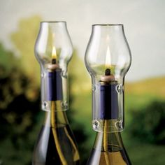 Wine Enthusiast Wine Bottle Oil Lamp Kit