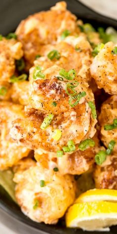 Crispy fried battered shrimp coated in a homemade sweet and spicy sauce, the BEST shrimp appetizer recipe. The ultimate bang bang shrimp recipe. Seafood Appetizers Seafood Appetizers Appetizers Appetizers for a crowd Appetizers parties Baked Shrimp Recipes, Best Seafood Recipes, Healthy Dinner Recipes, Battered Shrimp Recipes, Ham Recipes, Sweets Recipes, Turkey Recipes, Casserole Recipes, Free Recipes