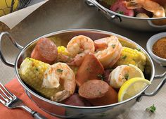 Nawlin's Low Country Boil... #EasyCajun with #JohnsonvilleSausage – ENTER at http://johnsonville.com/easycajun #sweepstakes