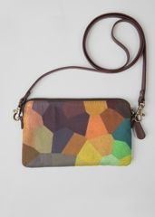 VIDA Statement Clutch - CHAKRAS 5 by VIDA 2lttCzrb