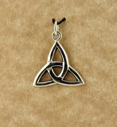 Sterling silver Celtic Trinity Knot unisex by celtictreasures