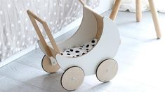 8 of the most pretty wooden doll prams for kids | Go Mommy Go