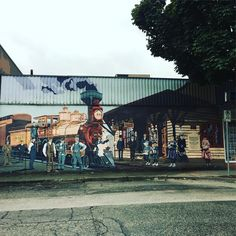 """1 Likes, 1 Comments - fuyiliu (@joe.fuyiliu) on Instagram: """"#healthylifestyle - a wall paint in Downtown of Port Coquitlam. Port Coquitlam is a city in British…"""""""