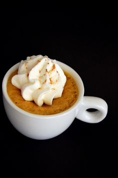 Pumpkin Spice Latte     http://www.culinaryconcoctionsbypeabody.com/2010/10/17/pumpkin-spice-latte/