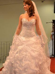 Vestido de Noiva Bufante