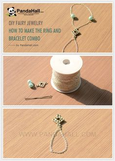 DIY Fairy Jewelry - How to Make the Ring and Bracelet Combo