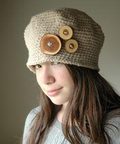 1920 Vintage Style Crochet Hat