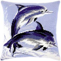 Дельфины, Чарівниця/Brvsk, Вышивка крестом | интернет-магазин вышивки Stitch World