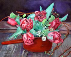 Hand Embellished Fine Art Giclee Print on by EnzieShahmiriDesigns, $150.00