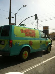 omg. i totally wanted this van when i was little. i was upset when they took it away from the parking lot.