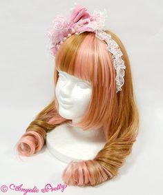 Angelic Pretty エレガントローズカチューシャ