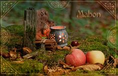 A beautiful Mabon Altar ~ Sacred Wicca