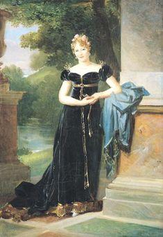 1812 Marie Walewska by François Gérard (Châteaux de Versailles et de Trianon - Versailles, Île-de-France, France) From telegrafua.com/social/12548/print/.jpg