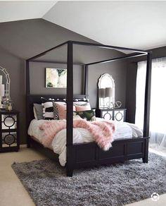 Eu amo rosa,cinza e preto,aí junta tudo ♡