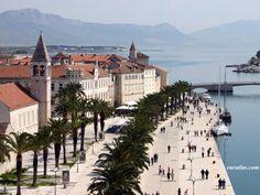 Trogir via Split, Croatia.  Another honeymoon cruise port *memories*