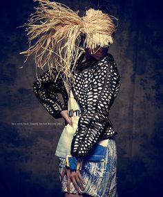 coro9 Harper's Bazaar en Español Junho 2014   Coco Rocha por Xevi Muntané [Editorial]