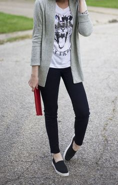 Weekend wear. Perfect for running errands and having coffee.
