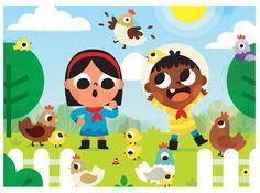 "Character design and illustrations for ""Super Valijita"" Kids Magazine. Children's Book Illustration, Character Illustration, Drawing For Kids, Art For Kids, Drawing Ideas, Ghibli, Children's Book Characters, Character Design Challenge, Magazines For Kids"