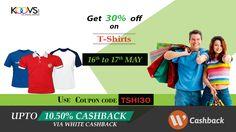 Get 30% off + Extra 10.50% cashback on shopping via WhiteCashback