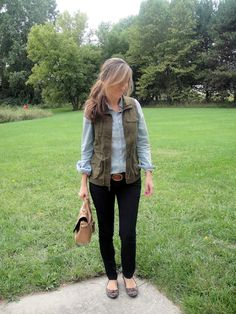 Lilly Style: military inspired vest