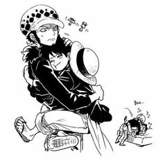 One Piece Ship, One Piece Comic, One Piece Fanart, One Piece Luffy, One Piece Anime, Trafalgar Law, One Piece Deviantart, Eevee Cute, Ace And Luffy