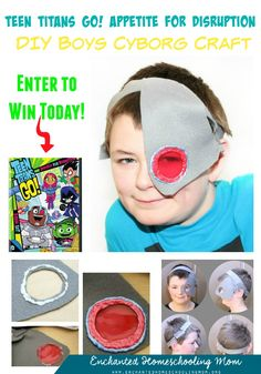 Come have fun with your favorite Teen Titans for the April 14th release of the 20 Disc Teen Titans Go! Appetite for Disruption (Season 2, Part 1) from Warner Bothers Home Entertainment. While you are learning about the 26 included episodes, why not also find out how to make a fun DIY Boys Cyborg Craft as well. Drop by today for your Teen Titans Go fun!