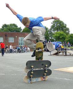 skaters zijn mensen die horen bij de subcultuur