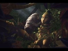 3D animated short film  Baobab, where in a living paradise grows the most beautiful tree there ever was...