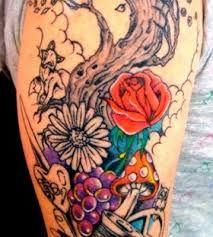 colorful mushroom tattoo - Google Search