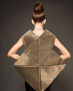 Shenaz Engineer - Fabric Manipulation, sculptural fashion