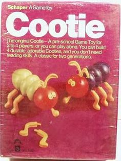 "The Game of COOTIE ... the only ""Cooties"" you wanted back then ... If I remember ""BOYS had Cooties"" right?"
