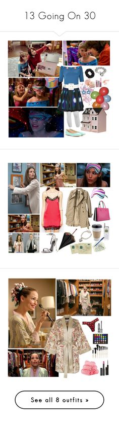 """""""13 Going On 30"""" by kaleidoscope-girl ❤ liked on Polyvore featuring M&Co, Topshop, Eggs, Somerset by Alice Temperley, Yves Saint Laurent, Chloé, Forever 21, Streets Ahead, Paul & Joe and RED Valentino"""