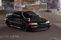 Turbocharged Honda CRX