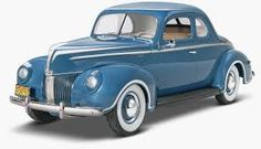 Image result for 1940 ford coupe model 1/25