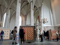 Quilts, Joriskerk, Amersfoort, the Netherlands