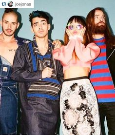 Repost from Joe Jonas || DNCE Jin wearing our Digital Dino Shades for Nylon Magazine