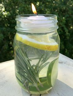 Remedies Natural All-natural Mason Jar Mosquito Repellant. Non-toxic, No DEET. - For an all-natural way to get mosquitos off the guest list at your next outdoor gathering, try this simple Mosquito Repellant Mason Jar. Mason Jars, Mason Jar Crafts, Pot Mason, Natural Mosquito Repellant, Mosquito Repellent Essential Oils, Diy Mosquito Repellent, Mosquito Repelling Plants, Do It Yourself Inspiration, Ideias Diy