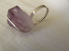 Anel/ Ring - Strenght (prata 925 e pedra de ametista / silver 925 and ametist stone)