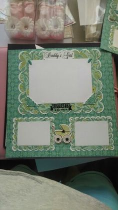 Baby book page