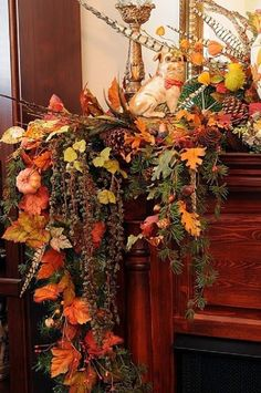 Now is the time of year when attention will be drawn to the dramatic heat source in living rooms, great rooms, and family rooms – the fireplace. Join us for beautiful, inspiring ideas for decorating your fireplace mantel for Fall and Thanksgiving on Hadley Court