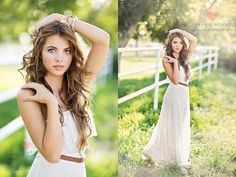 Senior Photo Ideas for Girls | Senior Picture Poses. I like what she did with her arms