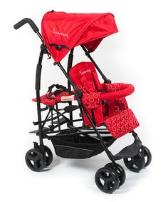 Look at this Red Kinderwagon Jump Stroller on #zulily today! Or this one! Man I love baby gear hahaha