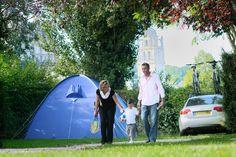 Camping la Citadelle à Loches, Touraine Loire Valley, France
