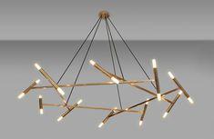 Image result for modernist chandelier