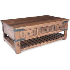 Vintage, rustic table great for a coffee table or to add a stylish piece to any room in your home.