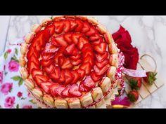 Strawberry Tiramisu Cake - YouTube