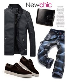 """""""161 Newchick"""" by erohina-d ❤ liked on Polyvore featuring men's fashion and menswear"""