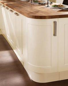 Burford Cream Kitchen Range | Kitchen Families | Howdens Joinery